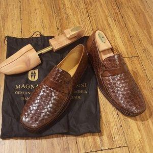 Magnanni Brown loafer